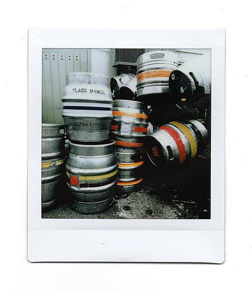 beer barrels, bosham, west sussex