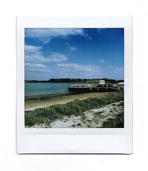 houseboat, hayling island, hampshire