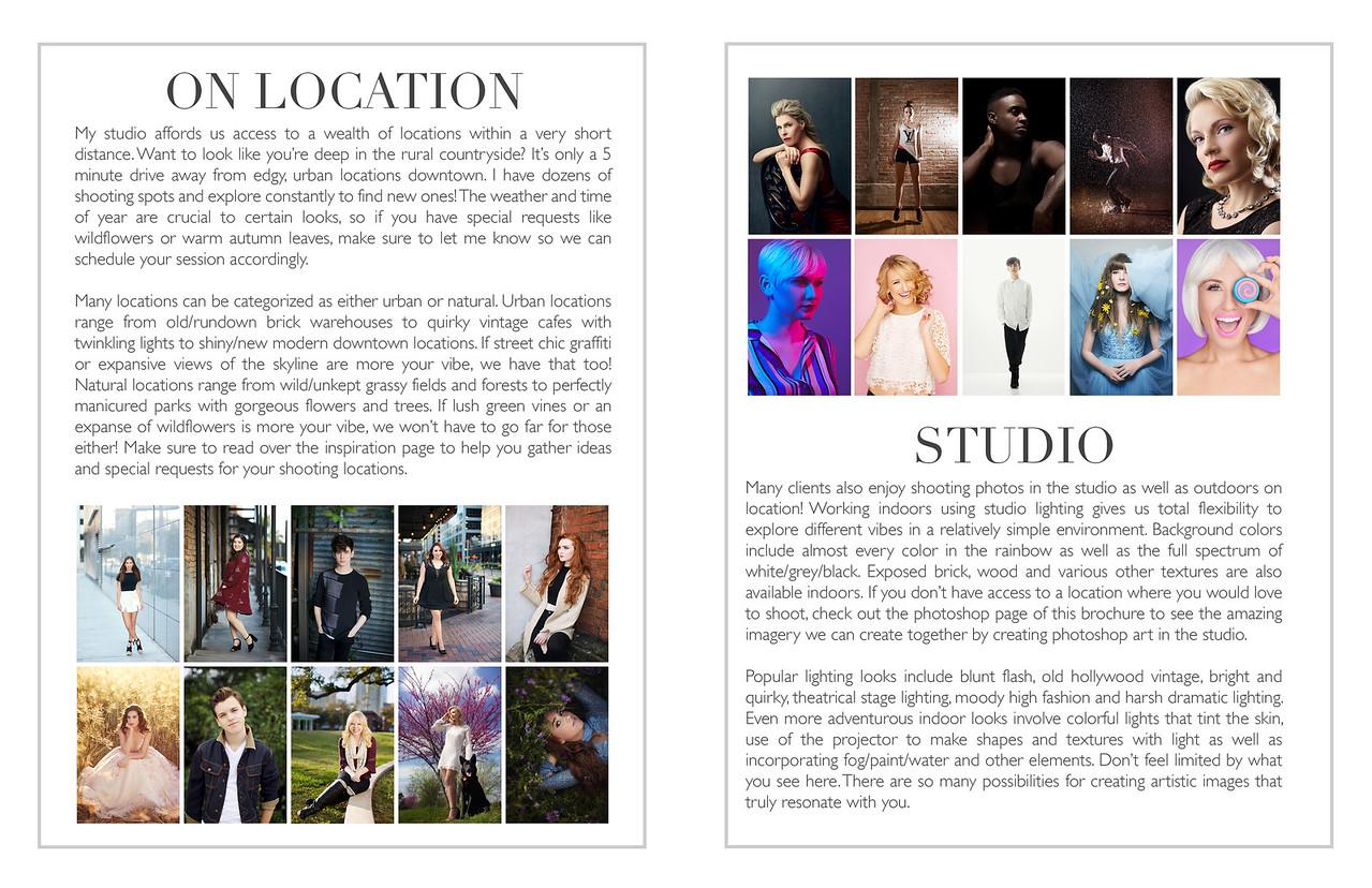 Portrait Pamphlet locations