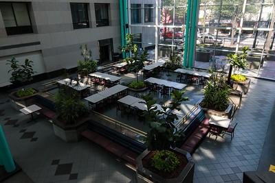 Fulton County Government Center Atrium Lunch Area
