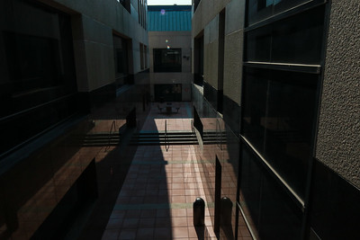 Walkway to Interior Courtyard