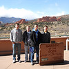 The cadets visit the Garden of the Gods, outside Colorado Springs.