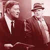 "David Huddleston appears with John Wayne in the movie ""McQ."""