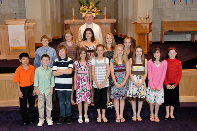 FUMC Pflugerville 2009 Confirmation Class