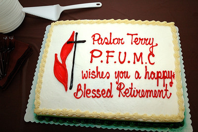 Pastor Terry's Retirement
