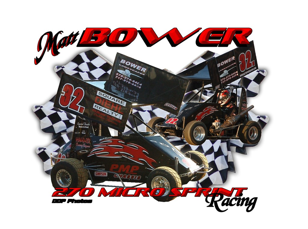 Bower Racing Print
