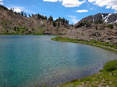 Hummingbird Lake (el. 10,237 ft.).