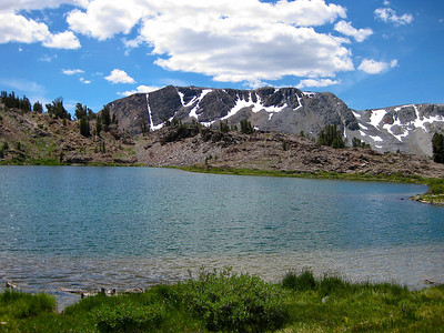 Hummingbird Lake (el. 10,237 ft.).