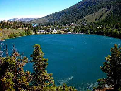 Gull Lake and June Lake in the background