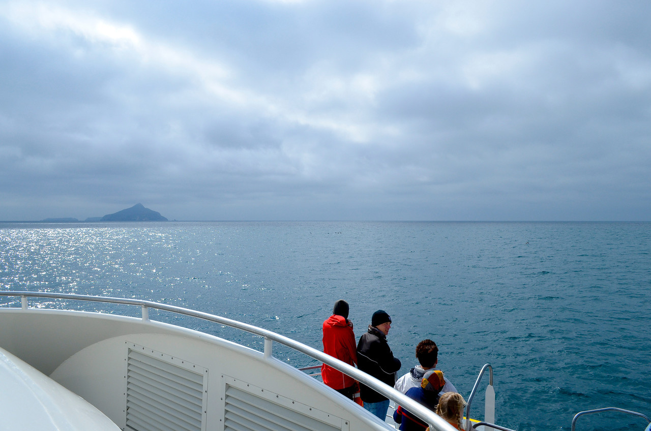 Anacapa Island in the view
