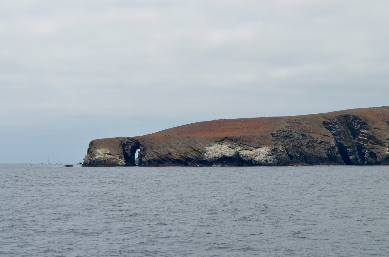 The Arch Point of the Santa Barbara Island