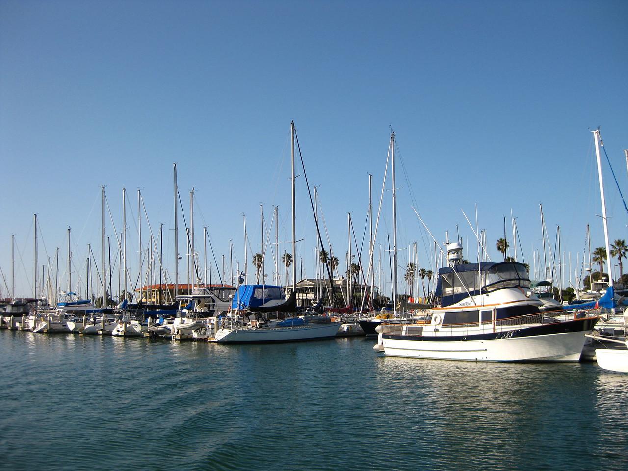Leaving Ventura Harbor