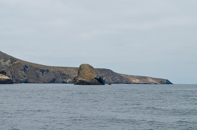 Shag Rock in the center and Webster Point, far right