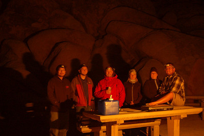 A16 Team, Indian Cove campground