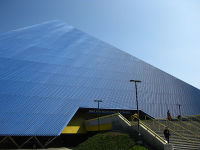 Walter Pyramid at Long Beach State