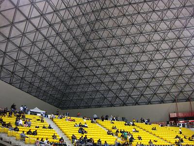 Inside the Walter Pyramid