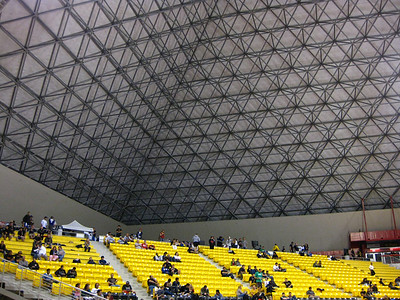 Inside the Walter Pyramid