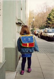 First day to school (kindergarten), Werden