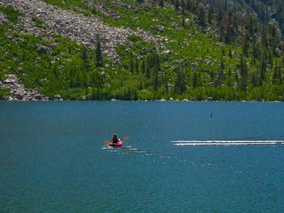 Kayaking Lake Sabrina