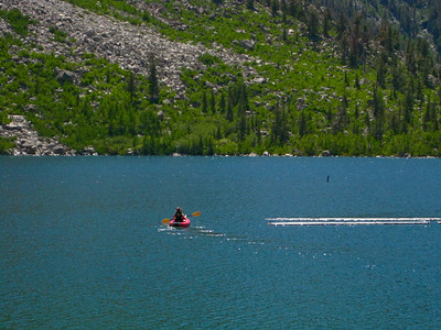 Kayaking Lake Sabrina