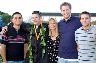 Dean, Roman, Mom, Matt and Joanthan