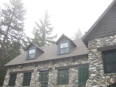 Foggy weekend on the mountain.