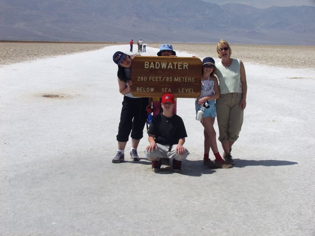 Death Valley National Park, 2002. Music Dave Brubeck.