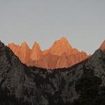 Mt. Whitney sunrise. Music Neil Young.