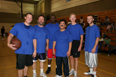 FunMania 2007 BasketBall Tournament.  FIRST PLACE WINNERS - CROSSROADS.