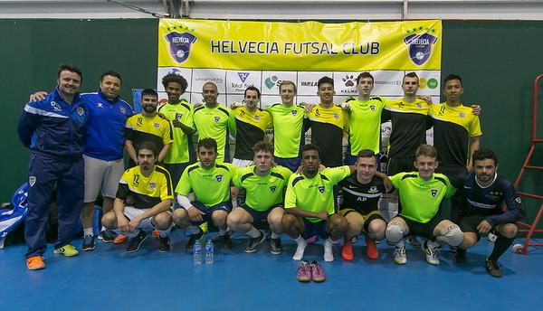 Helvecia Futsal Club v River Lea Futsal Club. The Score Community Centre. Friendly match. 12.04.2017