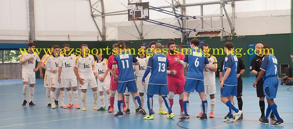 LONDON HELVECIA v CAMBRIDGE UNITED FUTSAL. FA National Super League Play-Off. 2nd Leg Quarter-Final. Score Centre. 21.05.2017