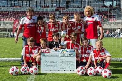 3. Platz bei Mini WM in Sandhausen