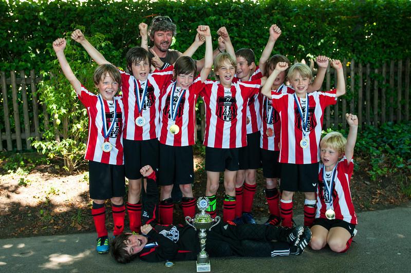 1. Platz YakinYakin Cup Basel 2011