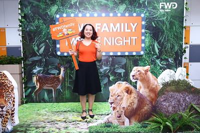 FWD Vietnam | FWD Family Movie Night instant print photobooth | in ảnh lấy liền Sự kiện | Photobooth Saigon