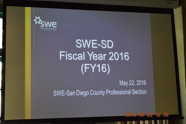 FY2016 SWE Annual Recognition Banquet