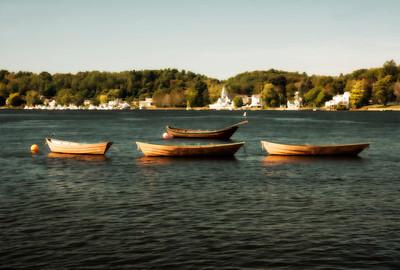 Four Dories on the Merrimack