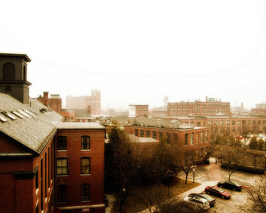 Roof Tops of Lowell