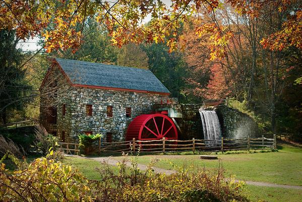 Wayside Inn Grist Mill, Sudbury, MA  -7999