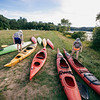Kayak trip. Magnus Bigelow, Mackenzie Scurka, E132