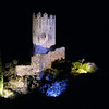 FZ50 - Lastours, Cathar Castle by Night (Sound and light)<br /> f/4.5 - 6s - 317 mm - 100 iso