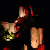 FZ50 - Lastours, Cathar Castle by Night (Sound and light)<br /> f/5.6 - 6s - 260 mm - 100 iso