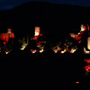 FZ50 - Lastours, Cathar Castle by Night (Sound and light)<br /> f/5.6 - 8s - 88 mm - 100 iso