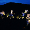 FZ50 - Lastours, Cathar Castle by Night (Sound and light)<br /> f/4.5 - 8s - 91 mm - 100 iso