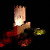 FZ50 - Lastours, Cathar Castle by Night (Sound and light)<br /> f/5.6 - 6s - 343 mm - 100 iso
