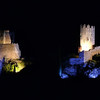 FZ50 - Lastours, Cathar Castle by Night (Sound and light)<br /> f/4.5 - 6s - 148 mm - 100 iso