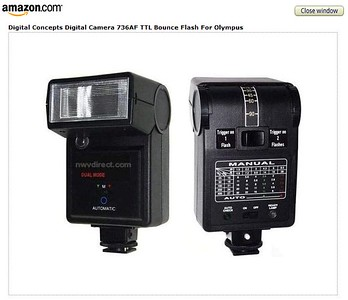 Flash compatibles TTL