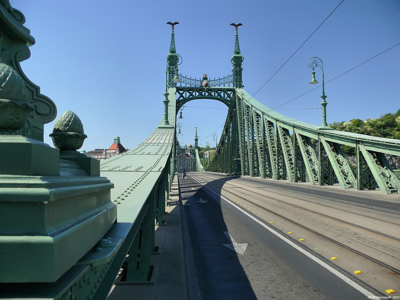 FZ50 - Liberty Bridge - Budapest<br /> - f/2.8 - 1/400 - 35 mm - 100 ISO - 0 EV