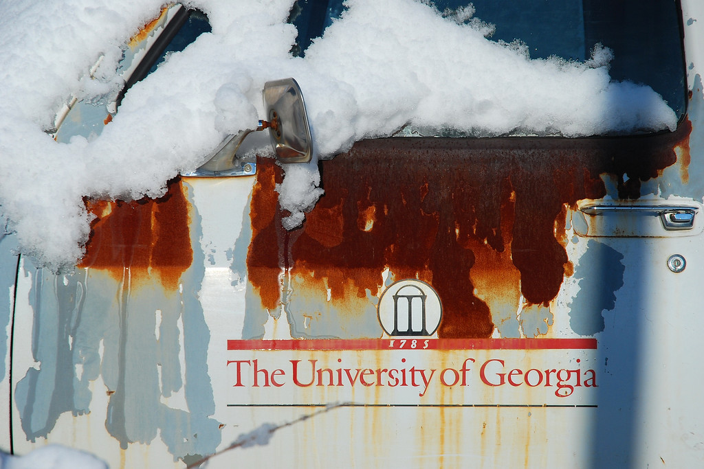 """Athens, GA (Clarke County) March 2009<br /> <br /> A rare snowstorm leaves 7"""" of snow on our town on March 1, 2009."""