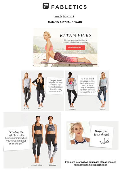 Fabletics Christmas Gift Guide