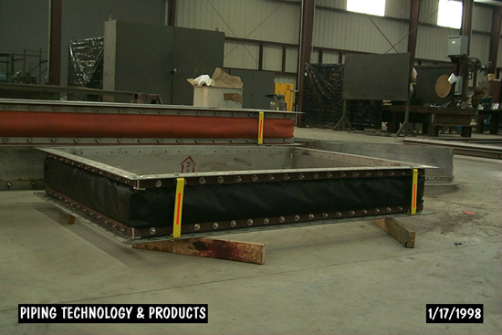 Various Rectangular Fabric Expansion Joint in Fabrication
